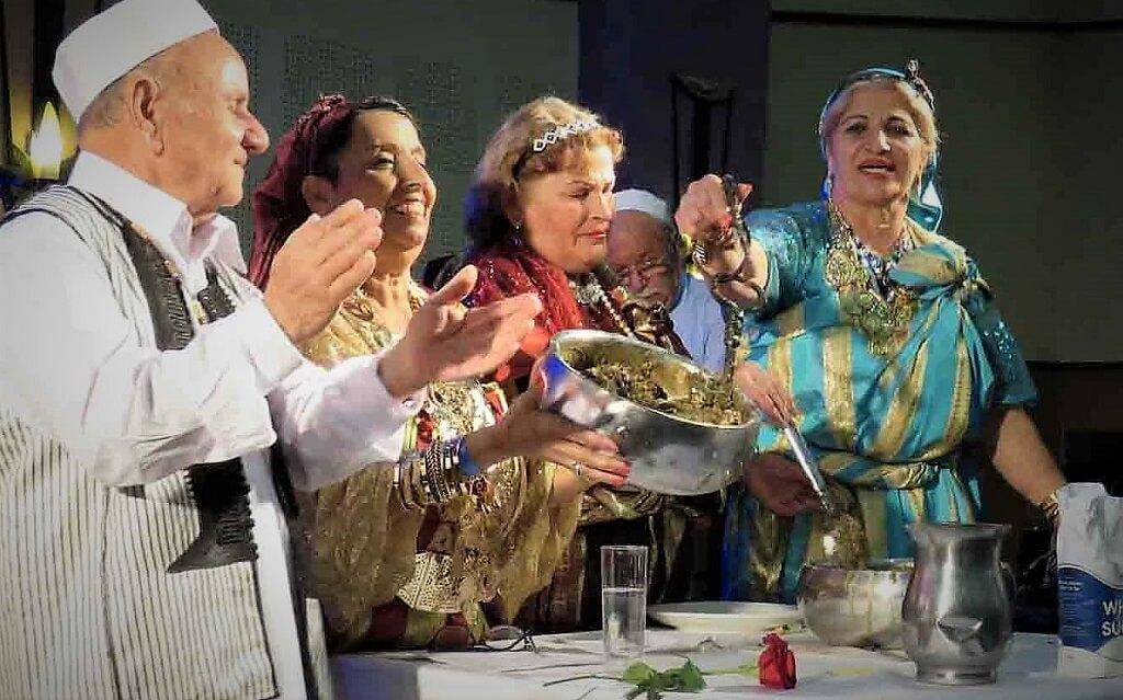 טקס ה'בסיסה | בשישא | Bsisa' הוא אחד האירועים היפים ביותר במורשת העתיקה והקדומה של יהודי לוב