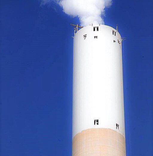 תחנת הכוח חדרה, לראשונה הופעלה הארובה הרביעית מופחתת זיהום