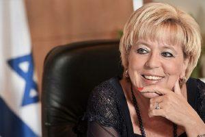 ראש העיר נתניה הגברת מרים פיירברג-איכר| צילום: רן אליהו