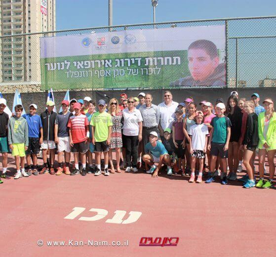 עכו רושמת מספר שיא של תחרויות בינלאומיות במרכז לטניס בישראל