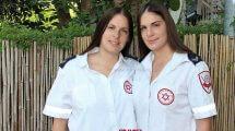 עדי אבוטבול ואחותה התאומה מיה אלוניחגגו יום הולדת ה- 30 לחייהן ו-15 שנות התנדבות ועבודה במגן דוד אדום