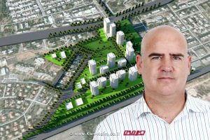 מר עדיאל שמרוןמנהל רשות מקרקעי ישראל, ברקעהתכנית ל-1008 יחידות דיור במתחם האצטדיון קרית ים