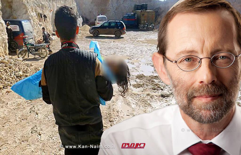 יושב ראש מפלגת 'זהות' מר משה פייגלין על 'טבח כימי' נוסף שביצע 'צבא אסד' בצפון סוריה: ישראל, לא יכולה להתעלם מהפשעים הנעשים בסוריה