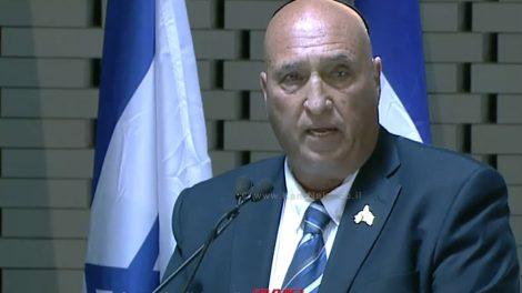אלי בן שם יושב ראש ארגון יד לבנים היום יום זיכרון מיוחד, הבוקר חנכנו את היכל הזיכרון בהר הרצל