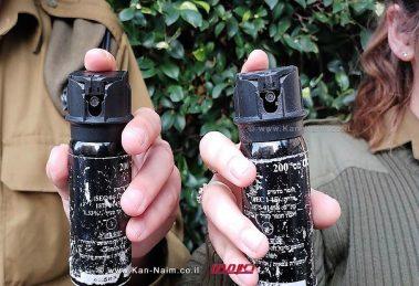 """צה""""ל: חיילים וחיילות יהיו מחויבים מיולי 17 לשאת עמם גז פלפל   צילום: דוץ"""