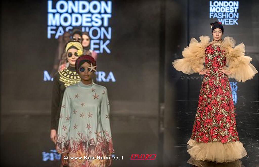 """הגב' פרנקה סואריה יוזמת שותפה של 'שבוע האופנה הצנוע'; """"התצוגות מוכיחות עד כמה סגנון האופנה הצנוע הוא מגוון."""