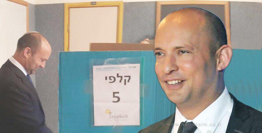 בנט, הרביץ שיעור חינוכי כואב למתחריו על הכיסא בבית היהודי | עיבוד צילום: שולי סונגו ©