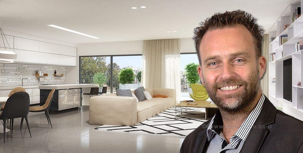 """ניר שמול מנכ""""ל חברת שניר, המשווקת פרויקטים בתחום המגורים ובתחום המסחרי"""