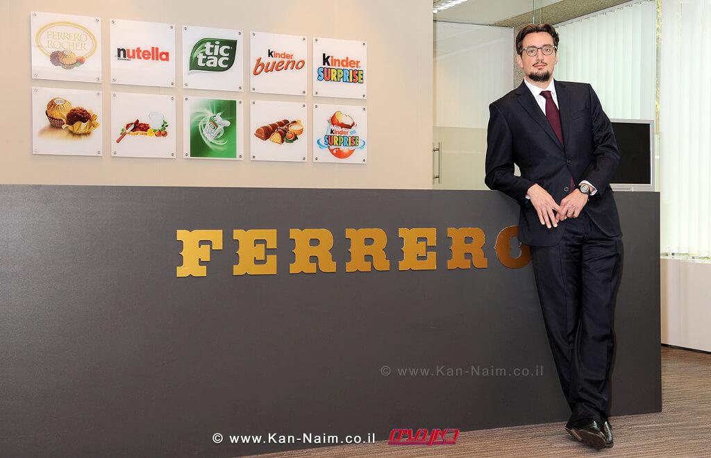 יזם ומנכל קבוצתפררו   Ferrero, מר ג'יובאני פררו, ייקח על עצמו את תפקיד יושב ראש הקבוצה החל מספטמבר השנה  עיבוד צילום: שולי סונגו ©