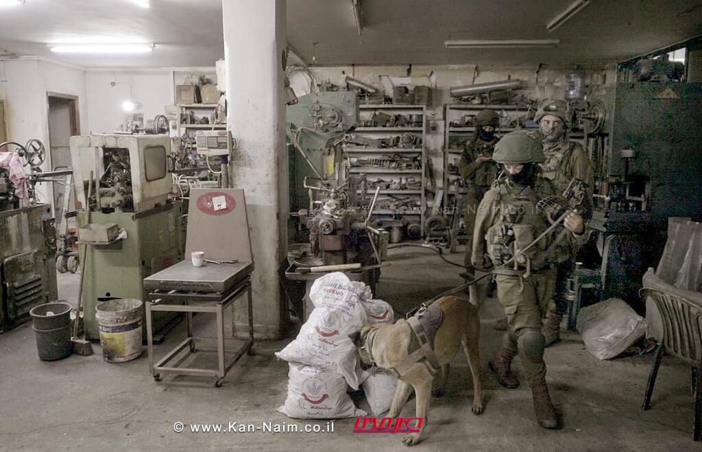 """צהל תפס בית מלאכה לייצור נשק ומחרטות המשמשות לייצור אמצעי לחימה בגזרת החטיבה המרחבית """"יהודה"""""""