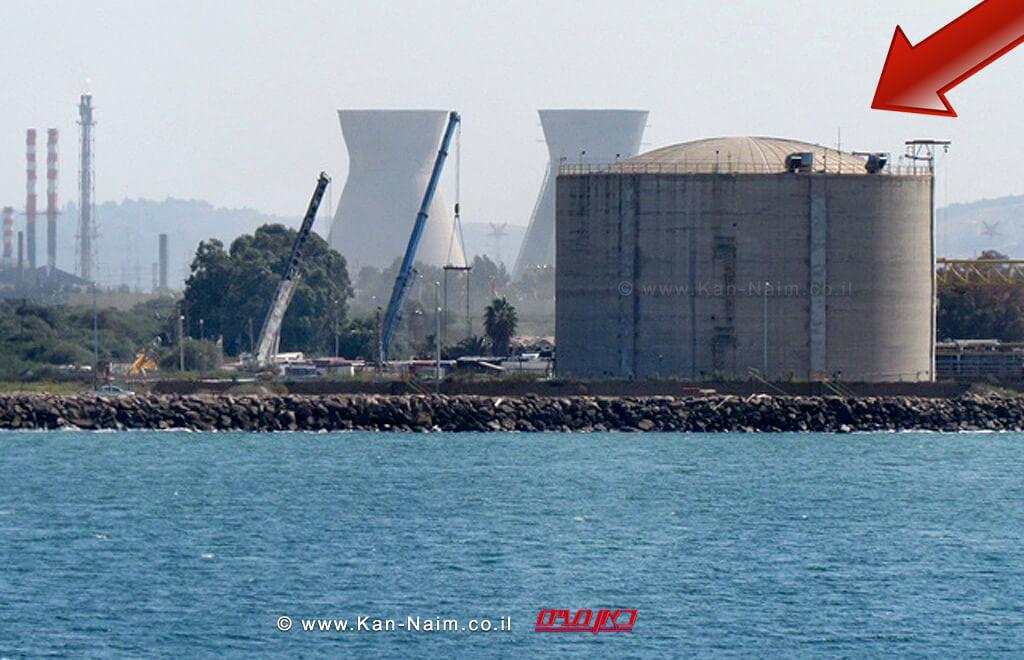 המדינה, זקוקה לאמוניה: להכניס דחוף אוניה למילוי מכל האמוניה   מכל האמוניה במפרץ חיפה   צילום המשרד להגנת הסביבה