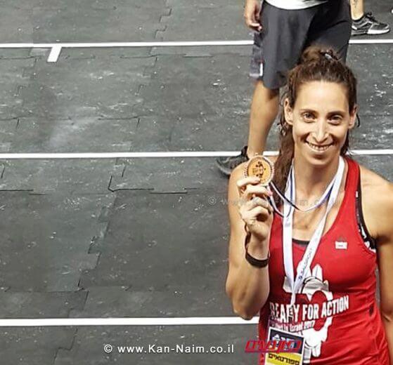 מעיין שפרלינג, תושבת נתניה מ'סטודיו סי' במקום ה-3 באליפות ישראל בכושר גופני   עיבוד צילום: שולי סונגו©