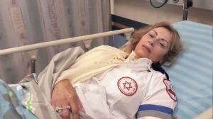 עובדי מדא קוראים להשבית חלק משירותי מדא בגלל תקיפת החובשת שרה ישראלי | צילום דוברות מדא