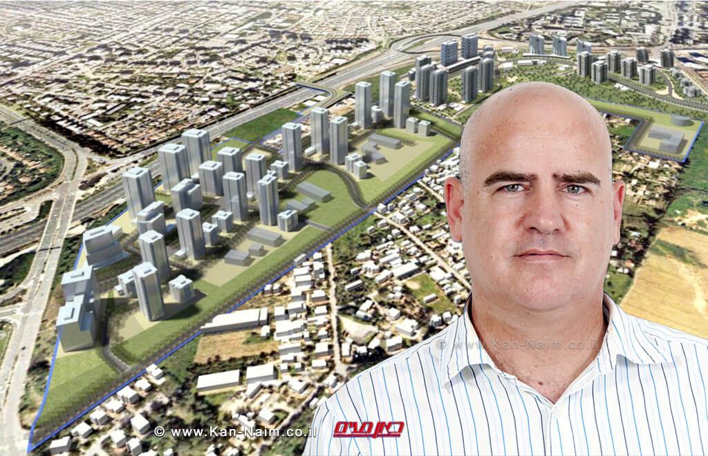 הוחלטה להפקדה תכנית רשות מקרקעי ישראל בהיקף של כ-2300 יחידות דיור בעיר רמת גן | עדיאל שמרון מנהל רשות מקרקעי ישראל | עיבוד צילום: שולי סונגו©