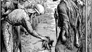 ציור שִׁילּוּחַ שָׂעִיר לַעֲזָאזֵל,ציור של ויליאם ג'יימס ווב | ויקיפדיה.