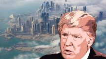 עתיד לוט בערפל – על הבידוד של קטאר מצד דונלד טראמפ והציר האסלאם הסוני | צילום: דּוֹחַה בירת קטר בערפל, pixabay | עיבוד צילום: שולי סונגו ©
