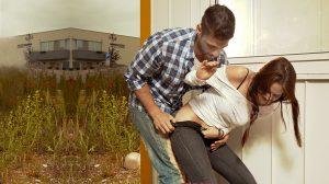 גבר מנסה לאנוס צעירה ליד הבית | אילוסטרציה | עיבוד צילום: שולי סונגו ©