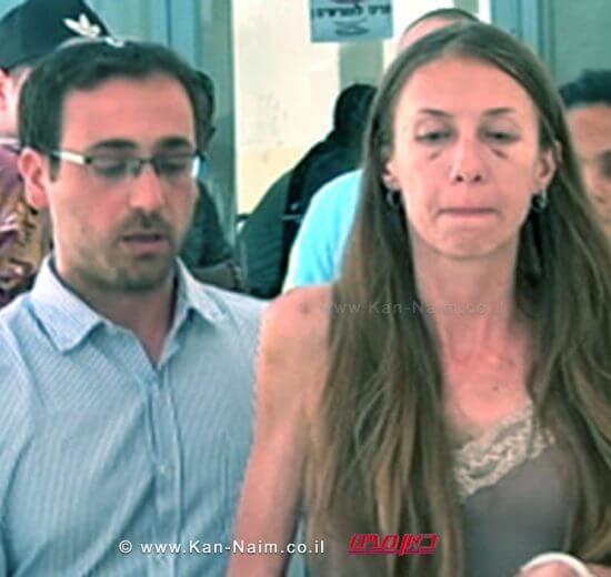 כתב אישום נגד מרים בת עמי מנדלב, בת 35 מבית שמש, בגין רצח אביה   צילום מסך ערוץ 2   עיבוד: שולי סונגו ©