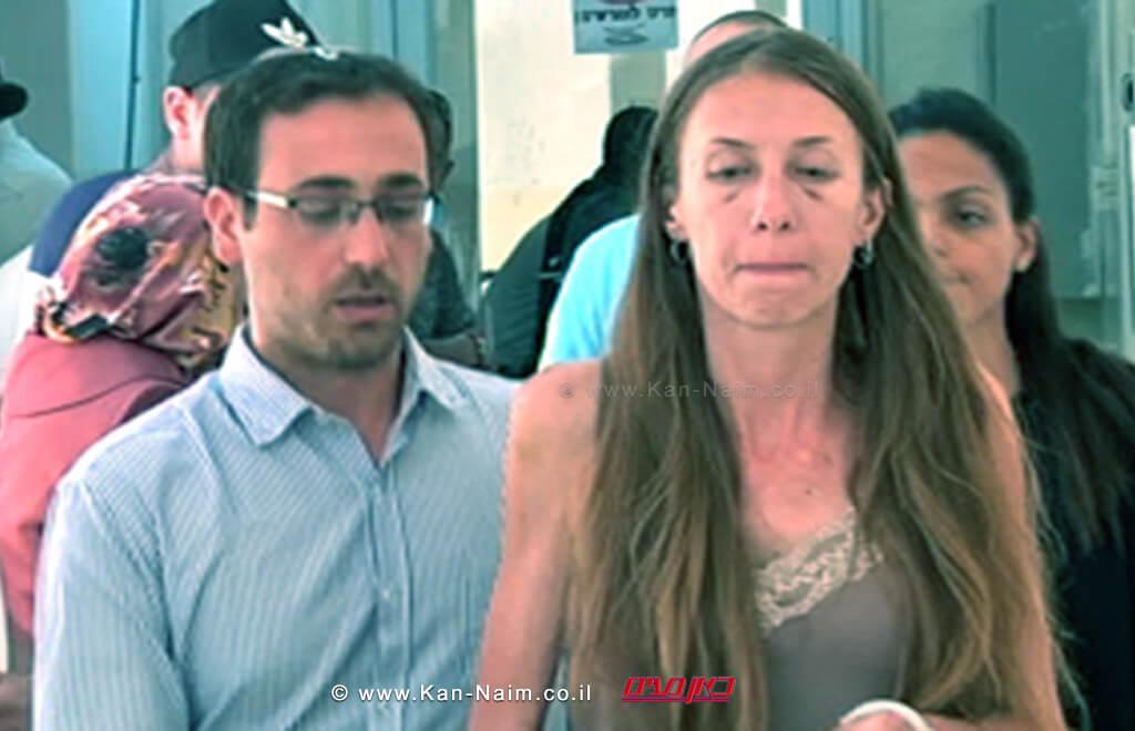 כתב אישום נגד מרים בת עמי מנדלב, בת 35 מבית שמש, בגין רצח אביה | צילום מסך ערוץ 2 | עיבוד: שולי סונגו ©