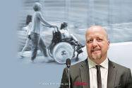 נציב שוויון זכויות לאנשים עם מוגבלות מר אברמי טורם | עיבוד צילום: שולי סונגו ©