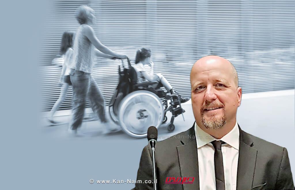 נציב שוויון זכויות לאנשים עם מוגבלות מר אברמי טורם: להעלות קצבאות הנכות  צילום: אתר כאן נעים   עיבוד צילום: שולי סונגו ©