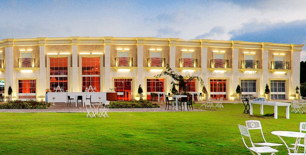 זוגות הצעירים לטובתכם רשימת גני אירועים ללא היתר בניה, גן אירועים ערוגות הבושם | צילום אתר העסק