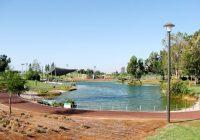 האגם בפארק הרצליה | עיבוד צילום: שולי סונגו ©