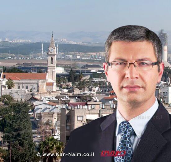 מיכאל וידל ראש העיר רמלה   עיבוד צילום: שולי סונגו ©