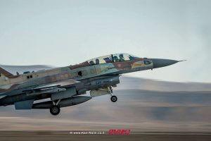חיל האוויר תקף בשבת מטרות צבא סוריה בצפון רמת הגולן | צילום: דוץ | עיבוד: שולי סונגו ©