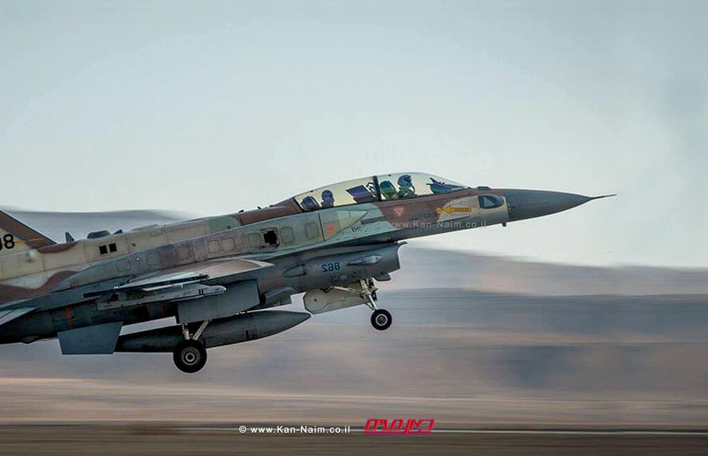 חיל האוויר תקף בשבת מטרות צבא סוריה בצפון רמת הגולן   צילום: דוץ   עיבוד: שולי סונגו ©