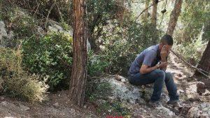 החשוד בשוד העתיקות הוא תושב נצרת שנתפס בעיר העתיקה של ציפורי | צילום: ניר דיסטלפלד, רשות העתיקות
