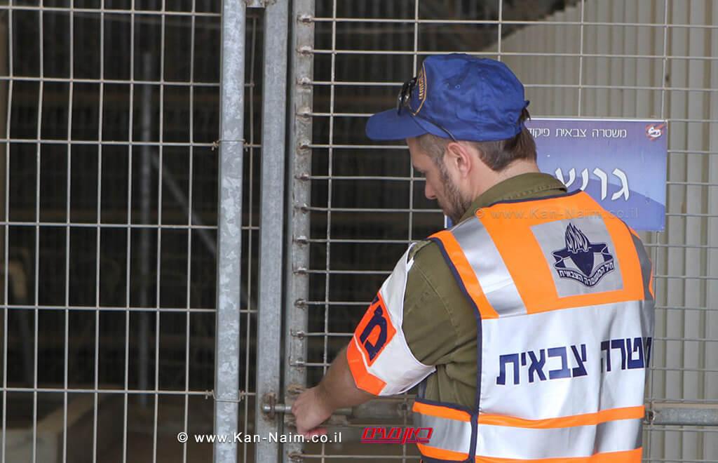 סוהר צבאי בבסיס הכליאה של צהל   צילום: דובר צהל   עיבוד צילום: שולי סונגו ©