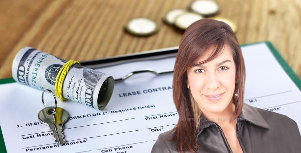 עורכת דיןמיכלנבון, העוסקת בעסקאות מקרקעין, ברקע: הסכם רכישת דירה |עיבוד צילום: שולי סונגו ©