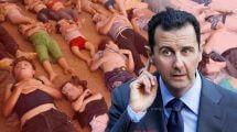 הרודן באשר אל-אסד וההתקפה הכימית של ח'אן שיח'ון | עיבוד צילום: שולי סונגו ©