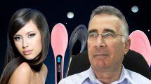 הממונה על התקינה במשרד הכלכלה והתעשייה, יעקב וכטל | רקע: מברשת שיער חשמלית Fast hair straightener דגם HQT-906| עיבוד צילום: שולי סונגו ©