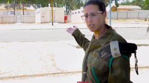 סגן אלוף מיטל מידם מפקדת בסיס טירונים דותן לשעבר מחנה 80 לטירונים |ראו מה קרה ב-מחנה 80 |עיבוד צילום: שולי סונגו ©