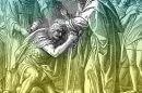 פרשת פנחס   משה מברך את יהושע בפני הכהן הגדול   מתוך ויקיפדיה   עיבוד צילום: שולי סונגו ©