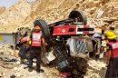 זירת התאונה באזור אילתבה נהרגו חייל סדיר וחייל מילואים | צילום: תיעוד מבצעי מדא
