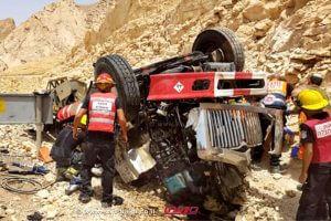 זירת התאונה באזור אילתבה נהרגו חייל סדיר וחייל מילואים   צילום: תיעוד מבצעי מדא