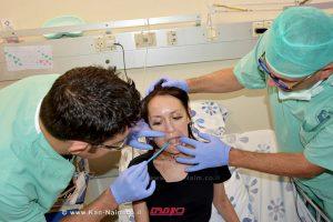 שוחזרה לשון צעירה מעפולה במרכז הרפואי פדה פוריה לאחר סרטן | צילום: מאיה צבן