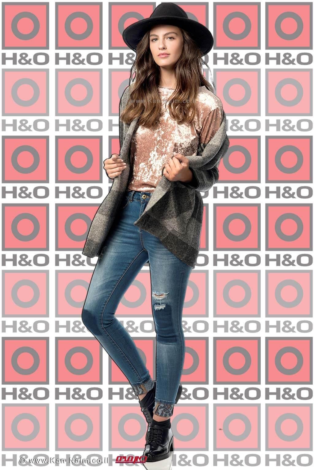 נערת ישראל אדר גנדלסמן בקמפיין ראשון שלה לרשת האופנה H&O   צילום: עידו לביא