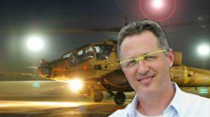 רב סרן (מיל') דודי (דוד) זהר, טייס במילואים שלמסוק אפאצ'ישנהרג בהתרסקות, טייס שני נפצע קשה בבסיס חיל-האוויר רָמוֹן | צילום אתר חיל האוויר| עיבוד צילום: שולי סונגו ©