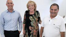 מימין: דוד נבון מנהל פרויקט השקעות קרן פורטיסימו, מרים פיירברג ראש העיר נתניה ומר איל שרי מנכל חברת אנרקון טכנולוגיות | עיבוד צילום: שולי סונגו ©