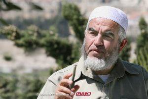 שייח' סלאח מנהיג פלג צפוני בתנועה האסלאמית, נעצר | עיבוד צילום: שולי סונגו ©