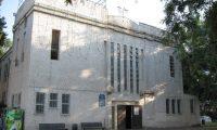 בית הכנסת לפני שיפוצו הוד השרון  | עיבוד צילום: שולי סונגו ©