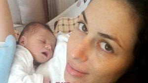 היולדת שי פורת, ב'מרכז הרפואי פדה-פוריה' ביולי  צילום: מיה צבן