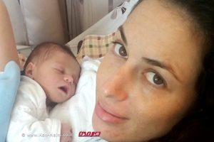 היולדת שי פורת, ב'מרכז הרפואי פדה-פוריה' ביולי |צילום: מיה צבן
