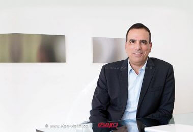 עמוס גניש איש העסקים הישראלי מונה למנכל קונצרן התקשורת הבינלאומי TIM, טלקום איטליה | עיבוד צילום: שולי סונגו ©