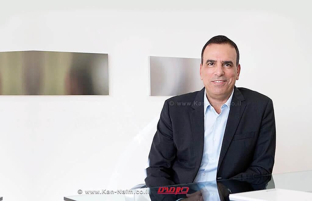 עמוס גניש איש העסקים הישראלי מונה למנכל קונצרן התקשורת הבינלאומי TIM, טלקום איטליה   עיבוד צילום: שולי סונגו ©