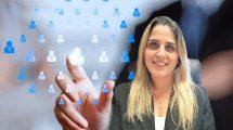 אביבית מסבנד סמנכלית בכירה למנהל ומשאבי אנוש של משרד התקשורת | צילום: דוברות משרד התקשורת | עיבוד צילום: שולי סונגו ©